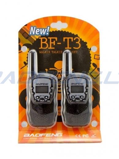 Baofeng BF-T3 (2 vnt.) 7