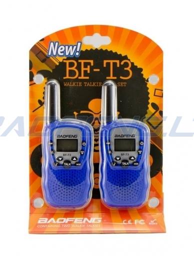 Baofeng BF-T3 (2 vnt.) 6