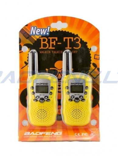 Baofeng BF-T3 (2 vnt.) 8