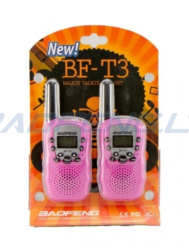 Baofeng BF-T3 (2 vnt.) 9