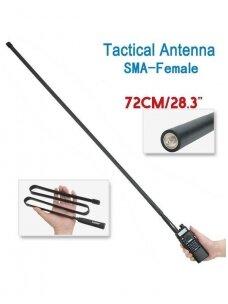 Taktinė, lanksti antena 72 cm