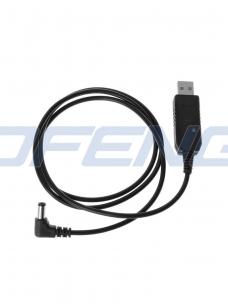 USB kroviklis 3.5 mm jungiamas į krovimo stovą